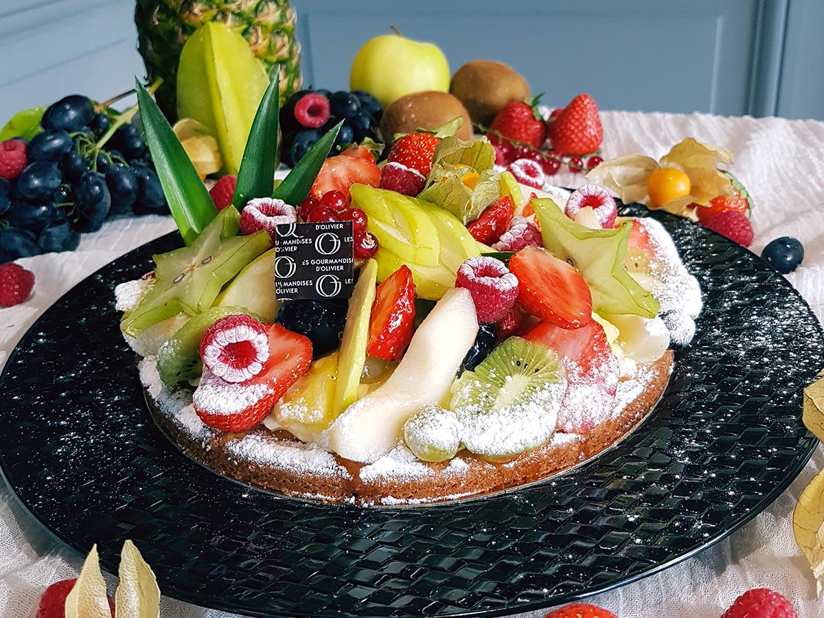 tarte fruit frais