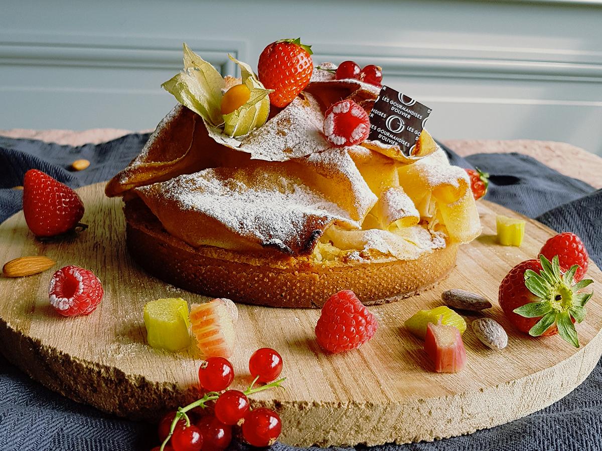 tarte gourmandise d'Olivier
