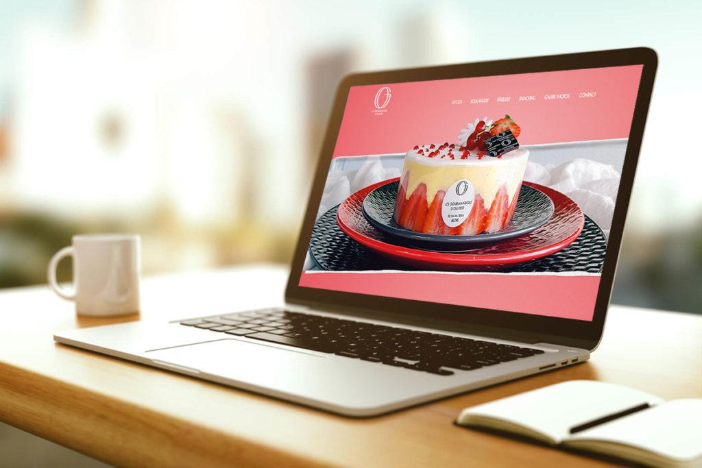 Le Nouveau site internet des Gourmandises d'Olivier